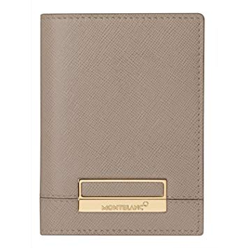 Montblanc leather 4cc wallet