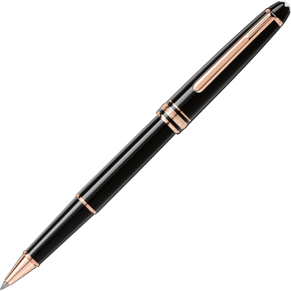 Montblanc Rollerball Rose Gold Plated