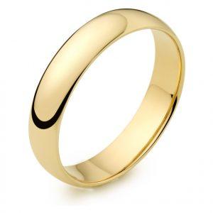 18ct Yellow Gold Wedding Rings