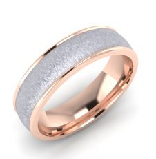 Two Colour Wedding Band