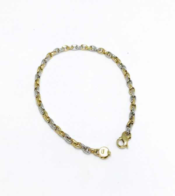 18ct YW Gold B'let