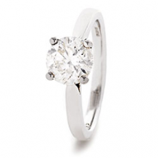 LMJSingle Stone WG Ring