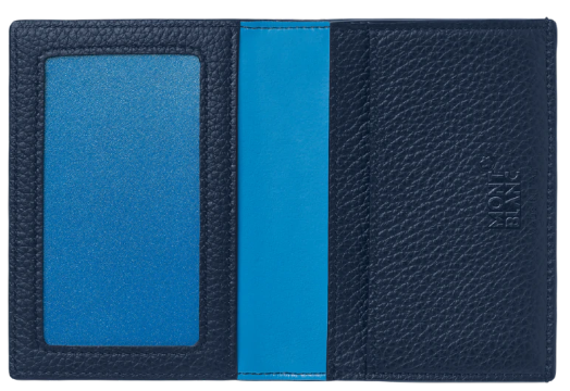 wallet blue and navy