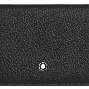 montblanc wallet gold and black