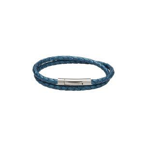 Unique leather bracelet