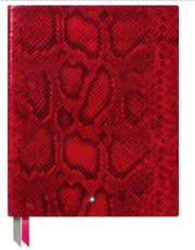 montblanc notebook red