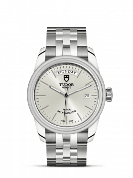 Tudor Glamour Day Date Silver Dial 39mm clearance