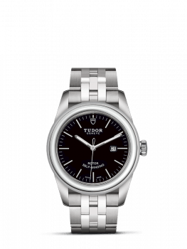 tudor glam date black dial 31mm clearance