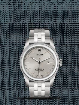 tudor glam date steel 31mm cleara