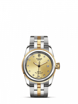 tudor glamour date 26mm s&g clearance