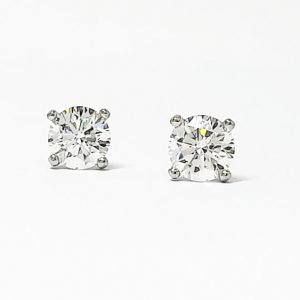 Solitaire Diamond Earrings & Pendants